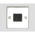 2-GANG 2-WAY ROCKER SWITCH BLACK INSERT